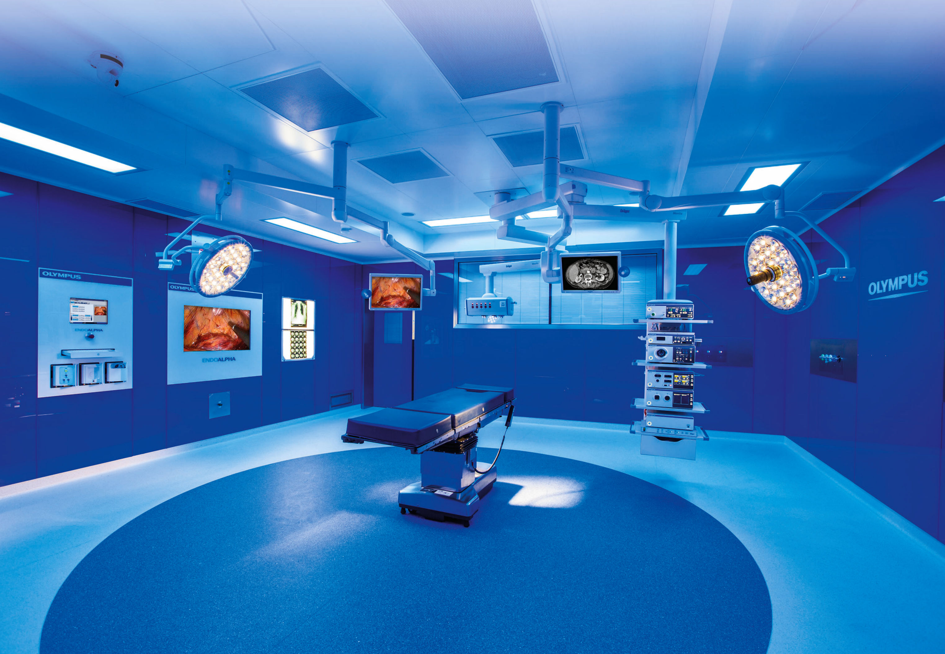 Chosen by Olympus Surgical Technologies Europe to develop custom, next generation video routing system